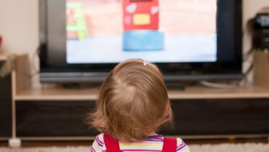 تصویر از کودکان و تلویزیون های همیشه روشن
